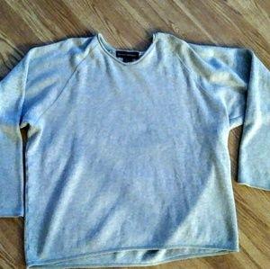 Banana Republic 100% cotton gray oversz sweater M